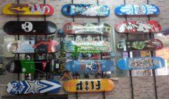 van truot lap rap, skateboard